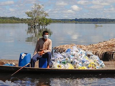 Ação do Idesam apoia famílias com renda prejudicada pela pandemia
